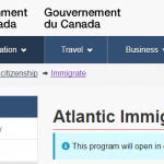 Atlantic Immigration pilot新移民プログラムが最強すぎて応募できなかったのが悔しい!