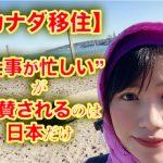 """【カナダ移住】""""仕事が忙しい""""が褒められるのは日本だけ"""